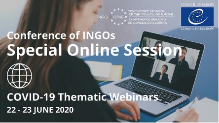 June Special Session of the Conference of INGOs (22-23 June 2020)
