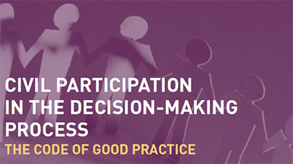 NGO participation in the decision-making process