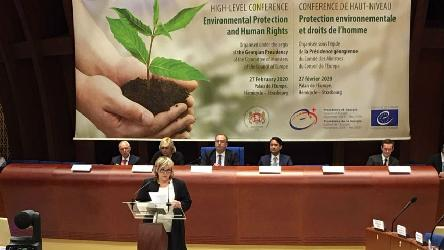 High-level Conference on Environmental Protection and Human Rights