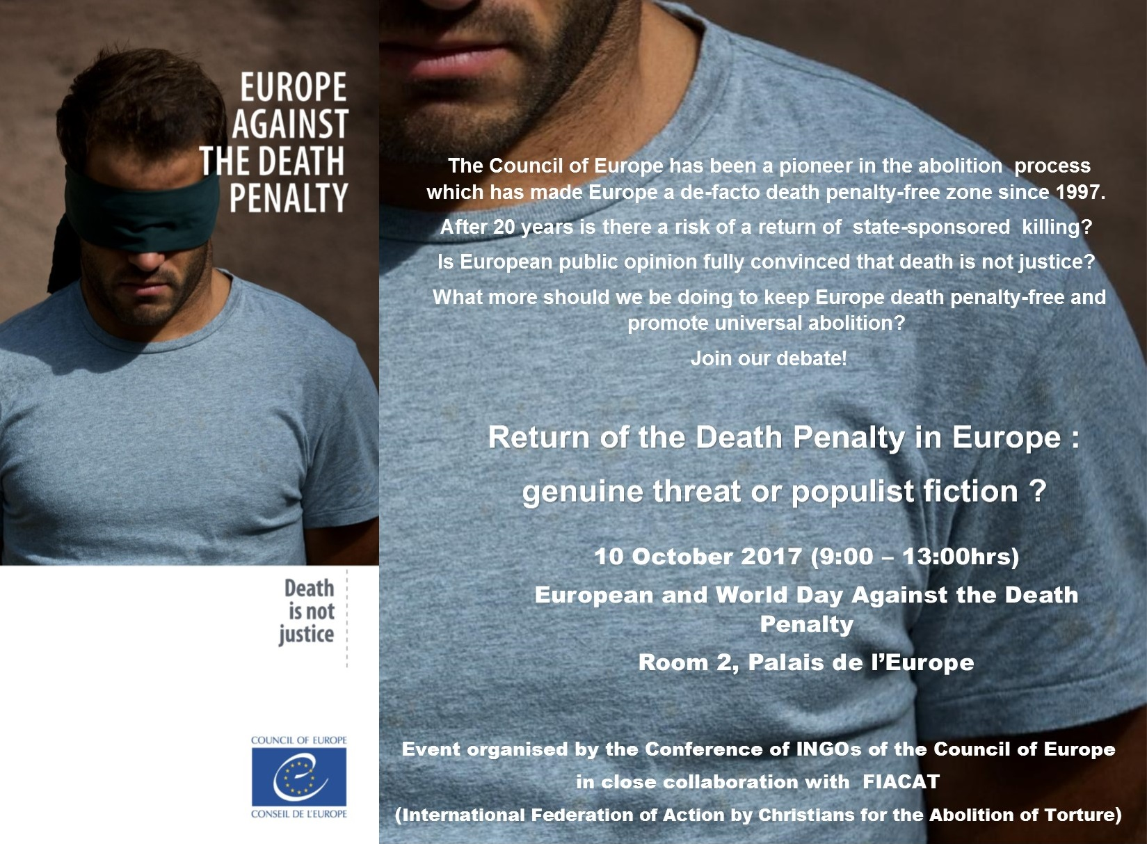 Debate: Return of the death penalty in Europe: genuine threat or populist fiction?