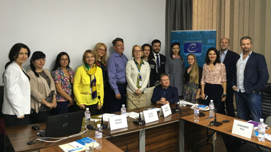 Kyiv: The Council of Europe promotes partnership between NGOs and public authorities