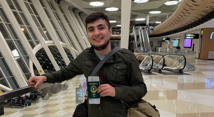 Mehman Huseynov stopped at the border
