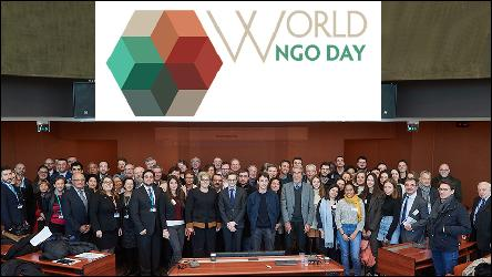 Council of Europe celebrates the World NGO Day