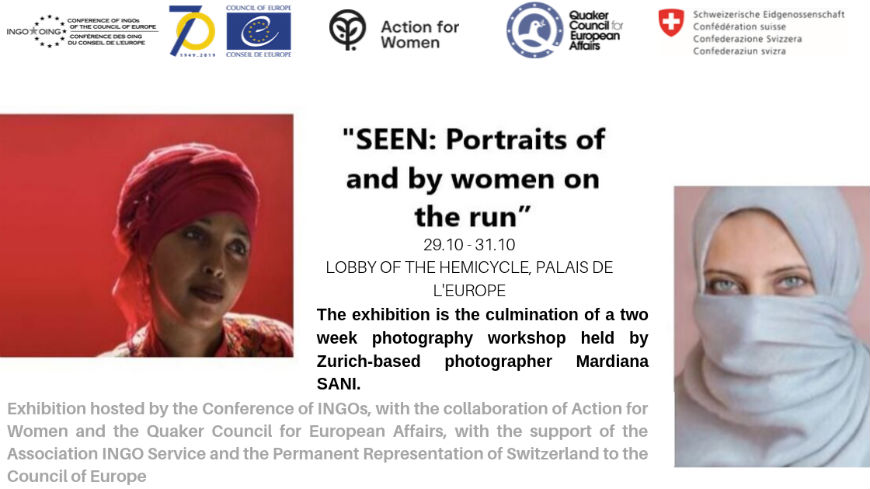 Exhibition: Portraits of and by Women on the Run