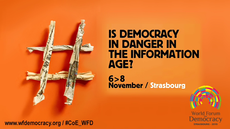 Conference of INGOs at the World Forum for Democracy