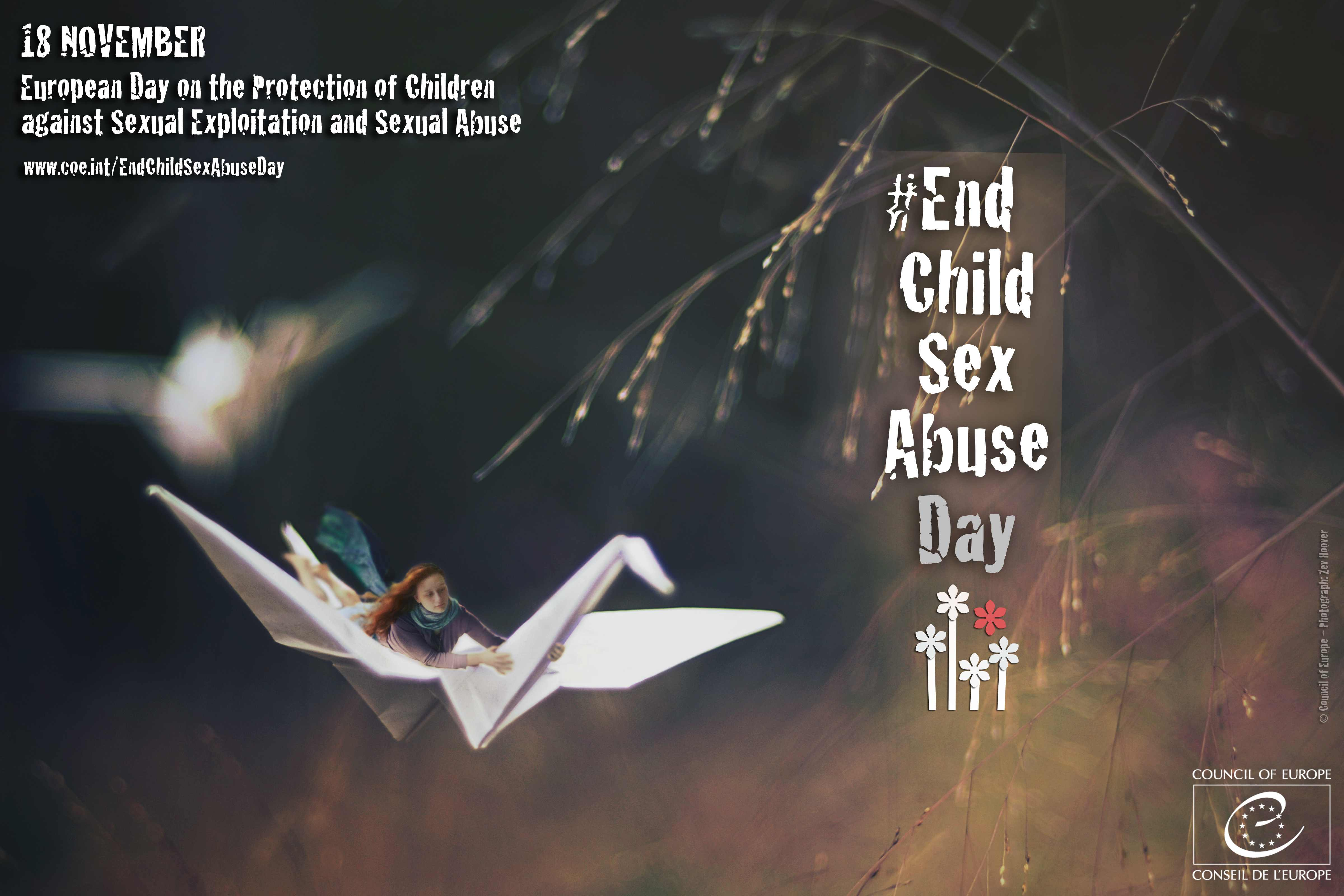 18 November: End Child Sex Abuse Day