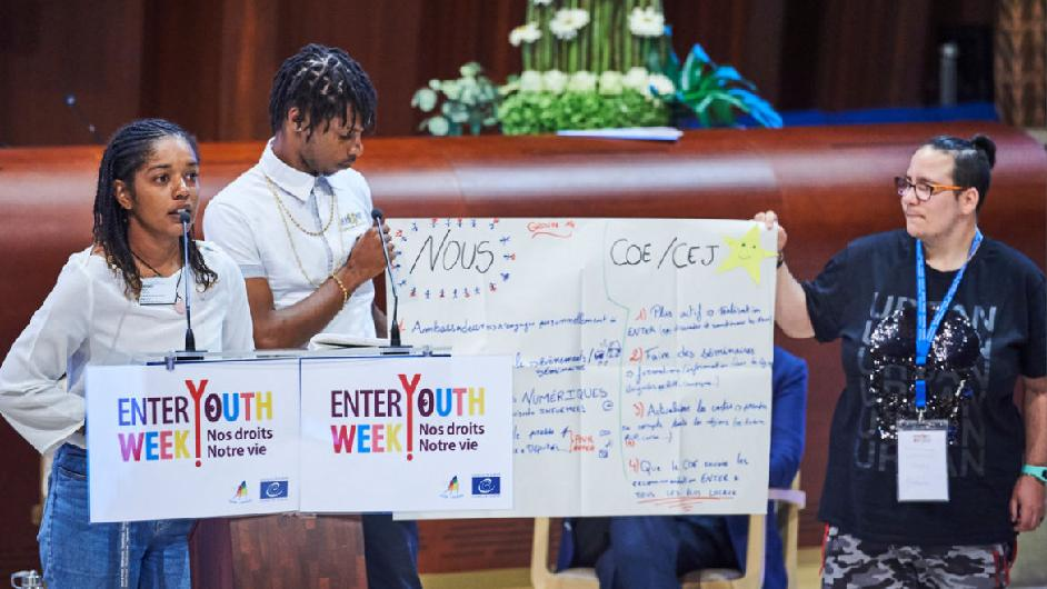 The Report of the Enter! Youth Week 'Our Rights, Our Lives !' is available