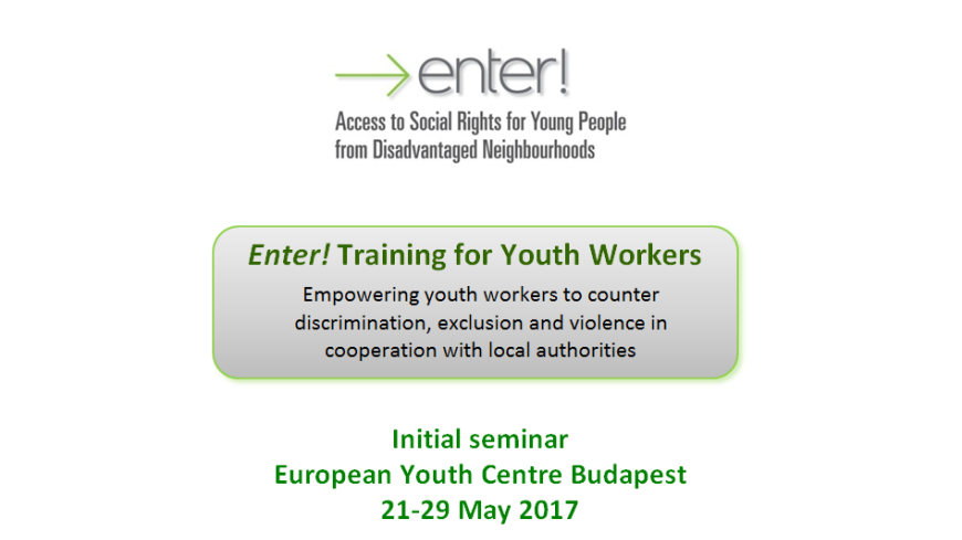 Enter! Training for Youth Workers