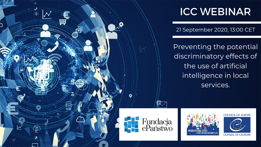 "Webinar on ""Preventing the potential discriminatory effects of the use of artificial intelligence in local services"": opening of registrations"