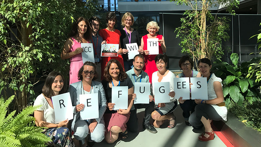 The Intercultural Cities team celebrates the World Refugee Day