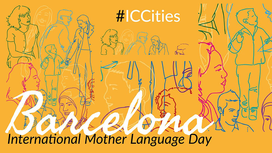 Barcelona celebrates the International Mother Language Day