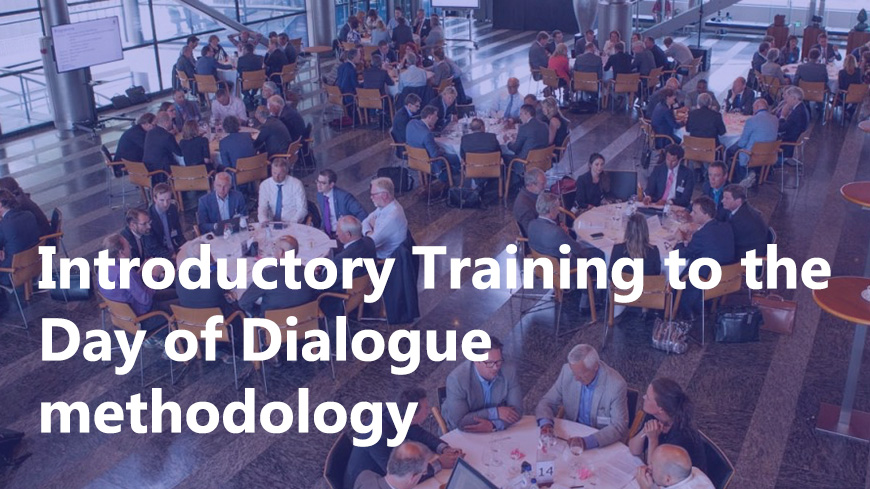 Training to the Day of Dialogue methodology