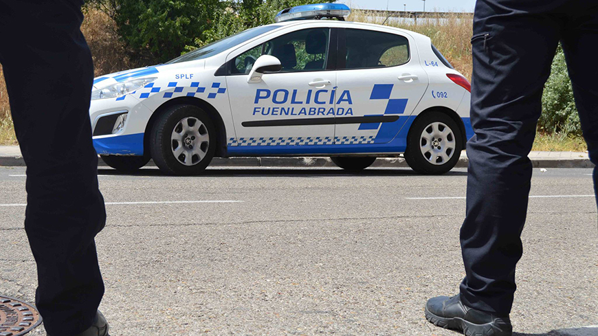 Fuenlabrada: Study visit for police officers on community policing