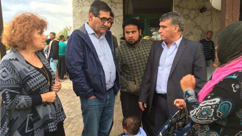 The Municipality of Patras supports refugees at Myrsini centre in Elia prefecture