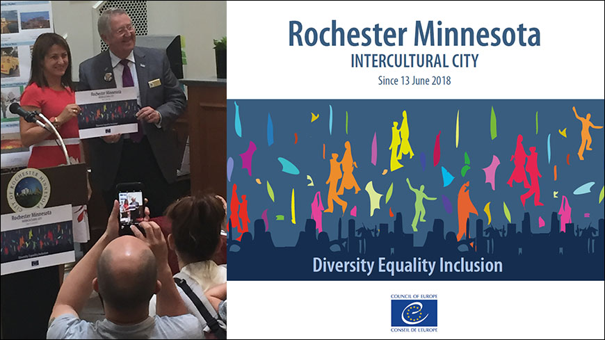 Rochester Minnesota formally becomes the 1st Intercultural city in the USA!