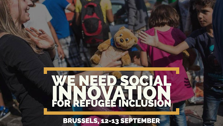 Social innovation for refugee inclusion