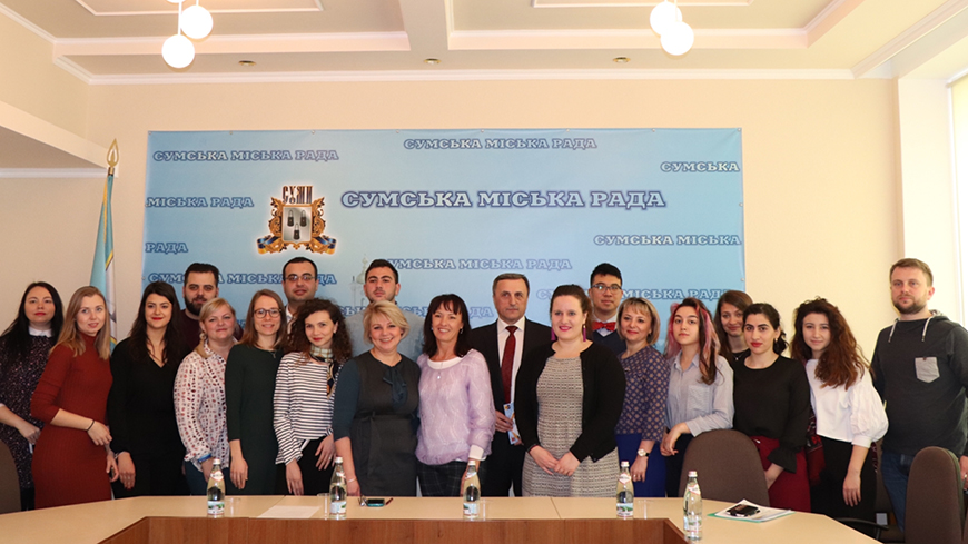 Growing ICC consciousness of residents fosters Sumy City authorities to launch the ICC Strategy development
