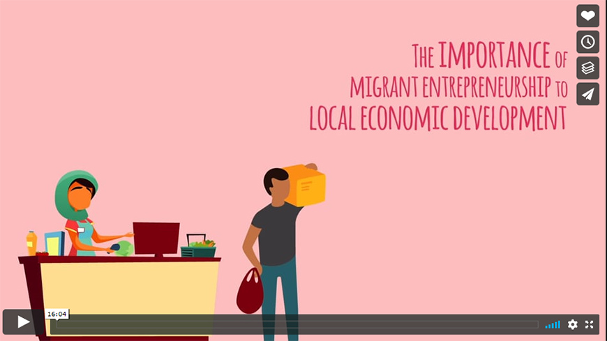 The importance of migrant entrepreneurship to local development
