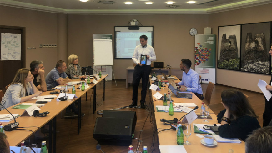 Media and communication skills workshop for Serbian State Prosecutorial Council