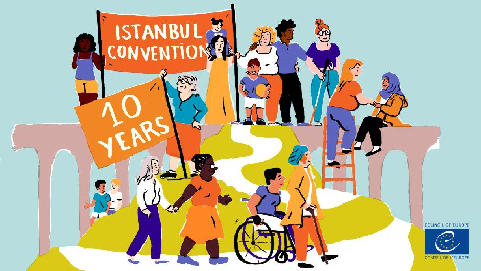 10 years of the Istanbul Convention: Bringing hope, promoting respect and inspiring change to end violence against women