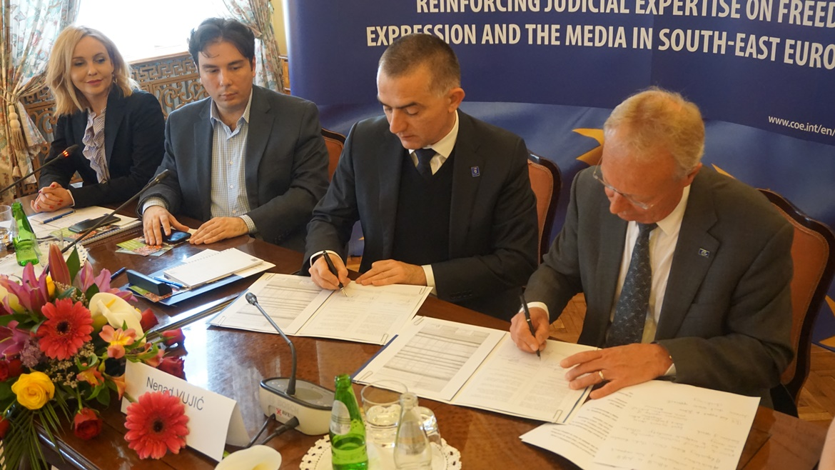 Grant Agreement With The Judicial Academy Of Republic Of Serbia