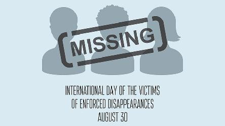 European states must no longer procrastinate on the duty to establish the truth concerning missing persons