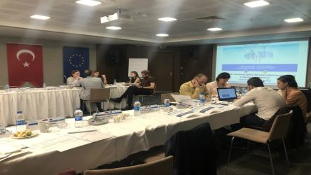 Development of a human rights reflex was the focus of Turkish pilot bar associations at a working group meeting on training