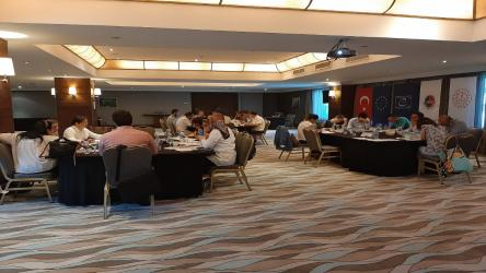 Within the Implementation of the Project on Strengthening Democratic Culture in Basic Education in Turkey, First Draft of the Whole School Model Was Presented for Feedback during the Working Group Meeting