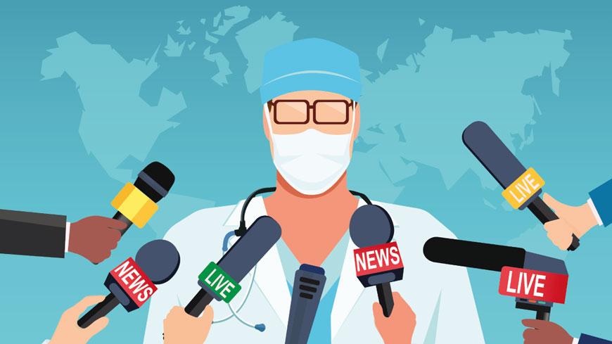 COVID-19 hakkında yanlış bilgilendirme ile mücadele ederken, basın özgürlüğü zarar görmemelidir - Haberler