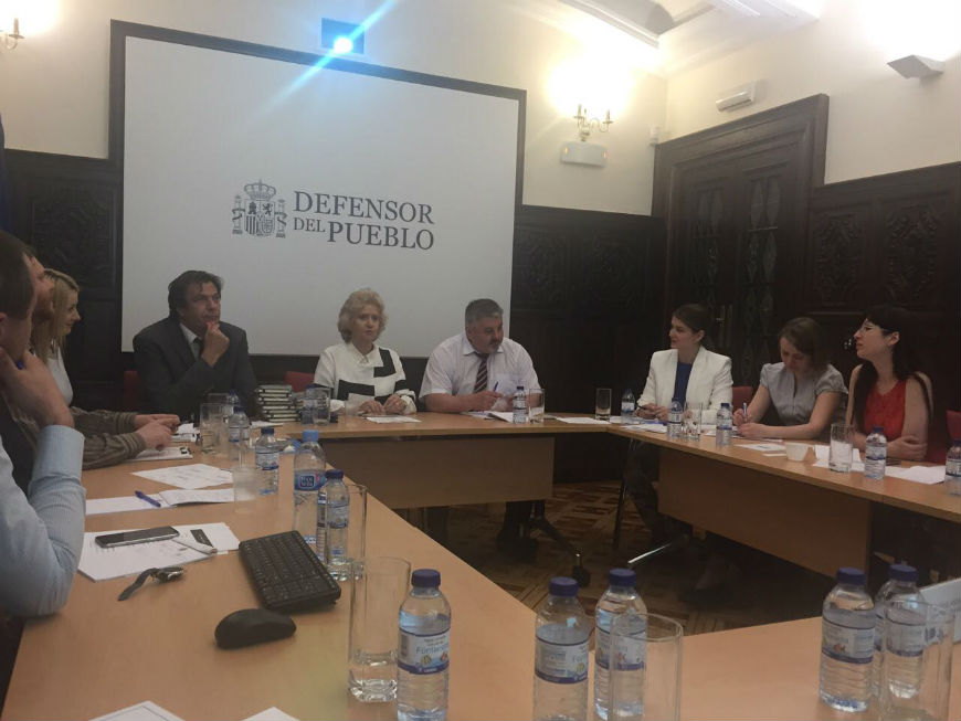 Moldovan Equality Council and Ombudsperson's office visit the Spanish Defensor del Pueblo
