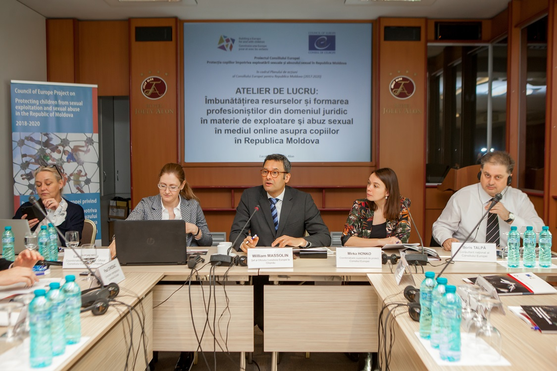 Workshop on enhancing resources and training of legal professionals on online child sexual exploitation and abuse and Steering Committee meeting