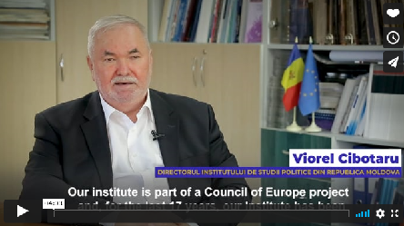 Viorel Cibotaru, Director of the European Institute for Political Studies in Moldova