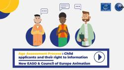 Animation on age assessment for children in migration is now available in three more languages