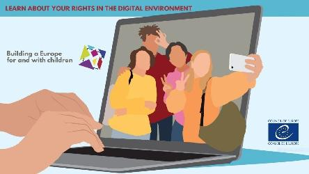 "For children, by children: ""Learn about your rights in the digital environment"""