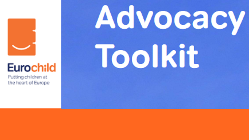 Eurochild Advocacy Toolkit: new publication aimed at promoting child participation, edited with Council of Europe support