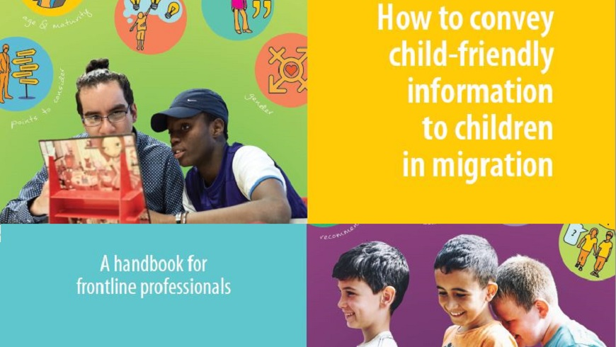Council of Europe launches Handbook on child-friendly information for children in migration