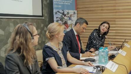 HELP course on child-friendly justice launched in the Republic of Moldova