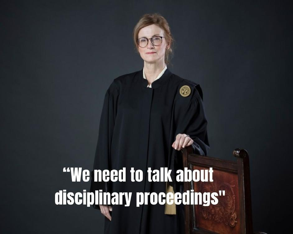 """We need to talk about disciplinary proceedings"" : New Verfassungsblog podcast with the CCJE's President"