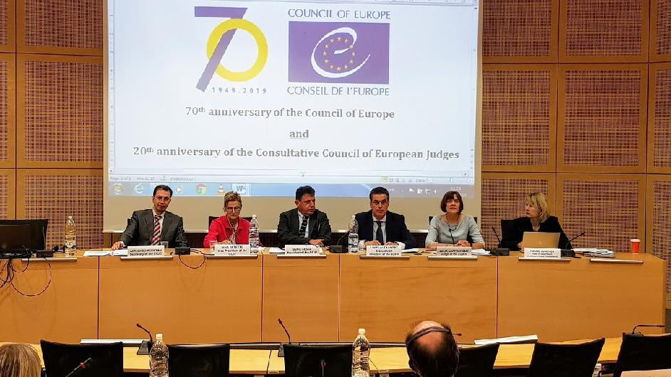 The Consultative Council of European Judges celebrates its 20th anniversary