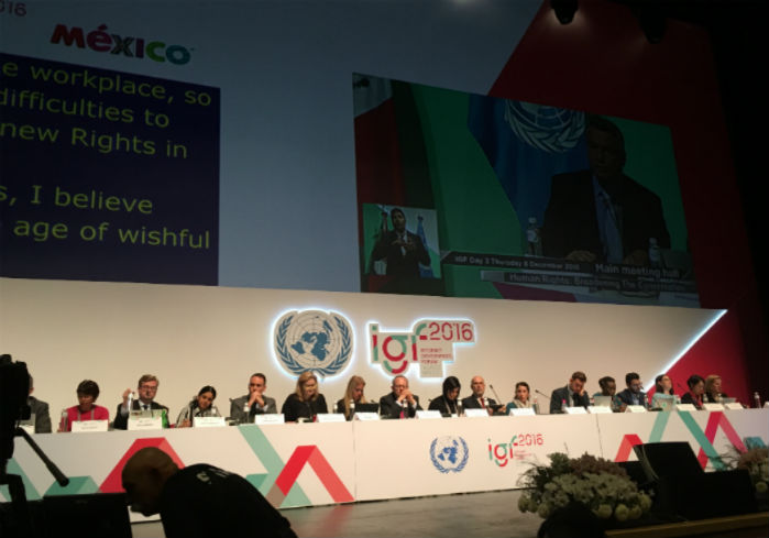 Data protection focus in the Internet Governance Forum (IGF)