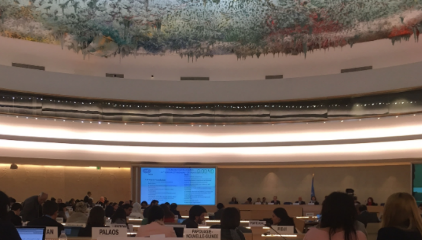 UN Human Rights Council – 34th Session