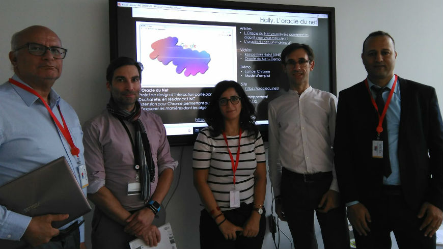 The Data protection authority of Morocco visits the LINC