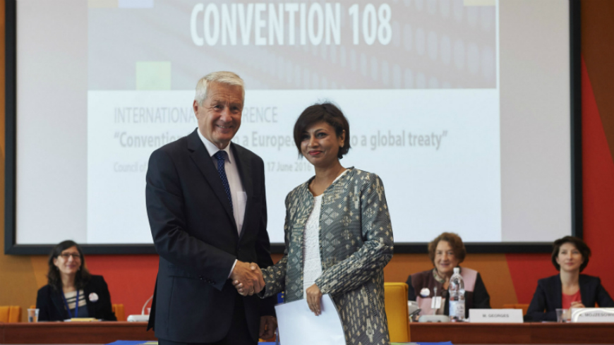 Convention 108: from a European reality to a global treaty