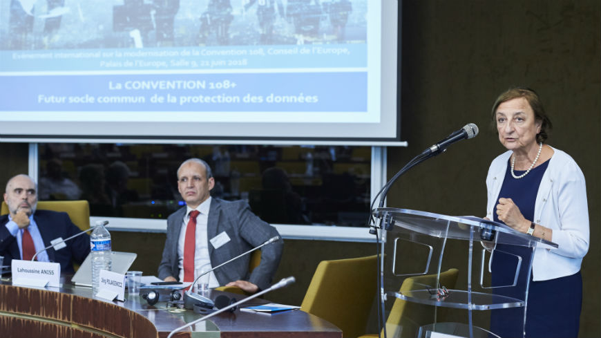 International event on the modernisation of Convention 108
