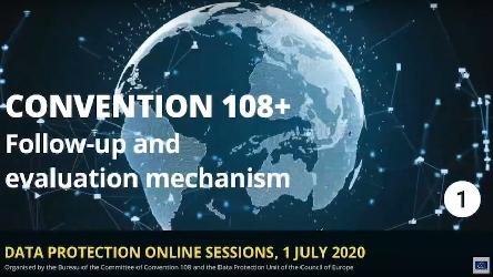 Catch-up with our webinar on Convention 108+ Follow-up and Evaluation Mechanism