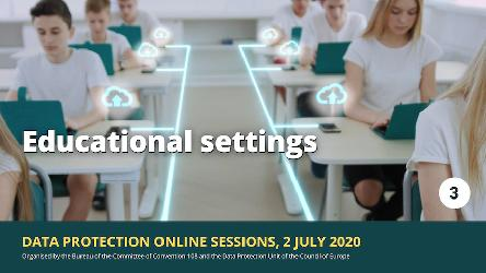 Catch-up with our Webinar on education settings