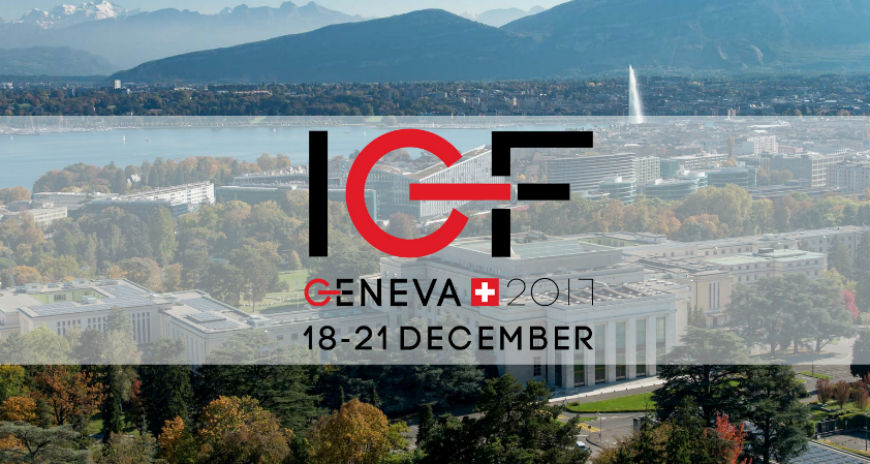 Busy week in Geneva with the IGF and the Bureau meeting