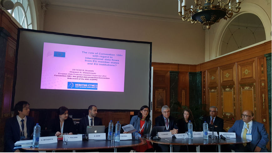Side Event at 40th International Conference of Data Protection and Privacy Commissioners (ICDPPC)