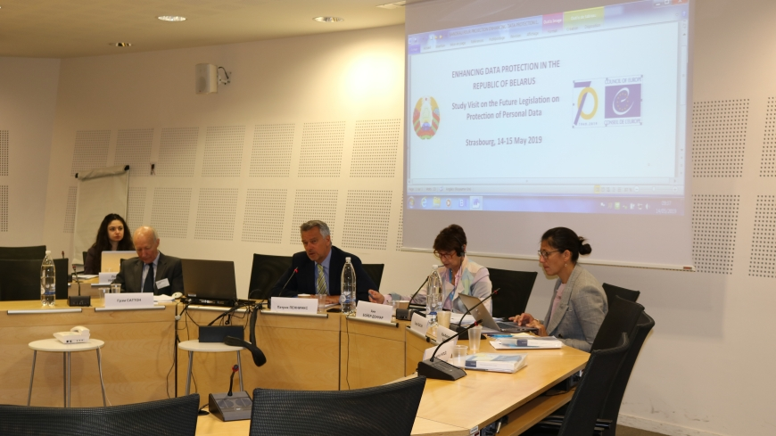 A high level study visit on the draft law on data protection of Belarus