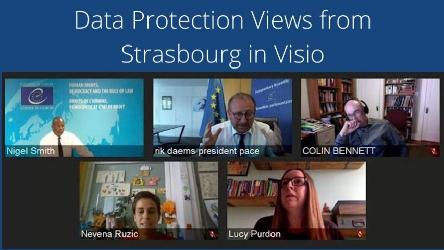 Data Protection Views from Strasbourg in Visio, recording now available
